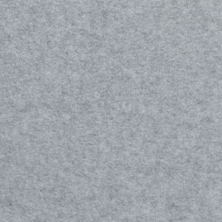 SHASON TEXTILE (2 Yards cut) POLAR FLEECE SOLID, LT. HEATHER GREY.