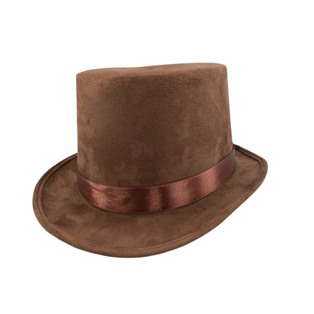 Steampunk Brown Faux Suede 6