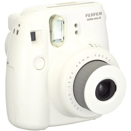 FujiFilm White 16273398 INSTAX Mini 8 Camera