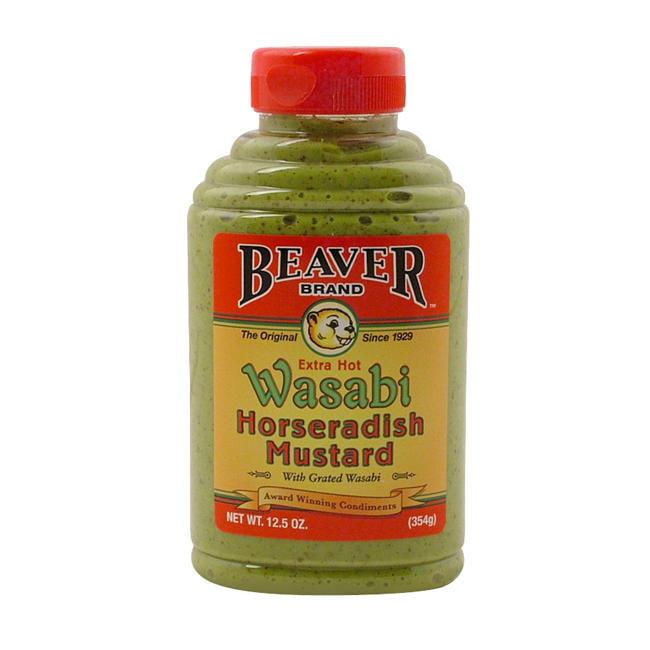 Beaver Wasabi Horseradish Mustard by Beaverton Foods Inc