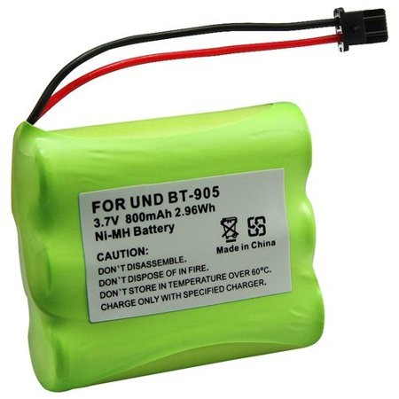 MegaPower (TM) 1X Cordless Phone Rechargeable Battery Compatible With UNIDEN BT-905 Cordless Phone Ni-MH Battery - image 1 de 2