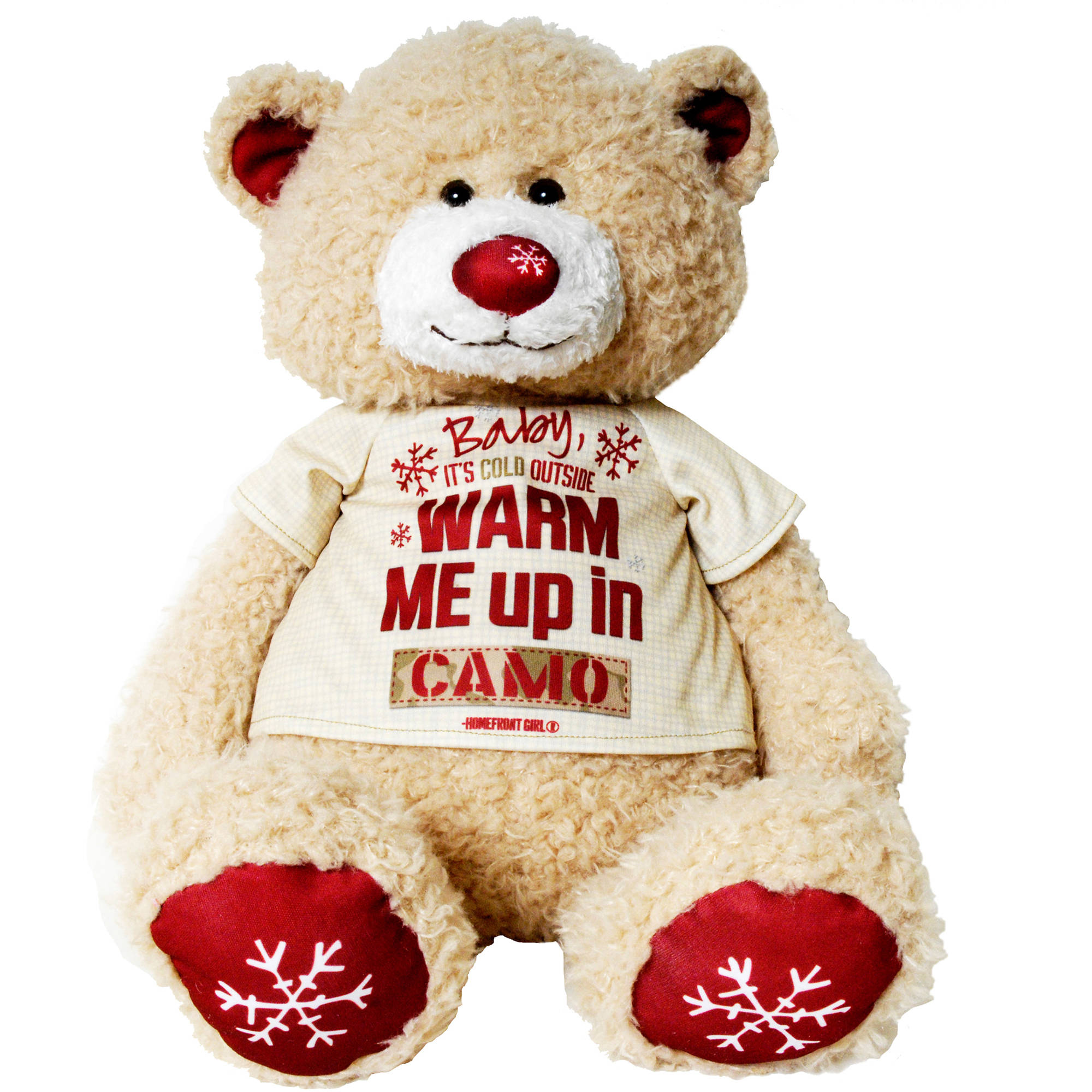 Homefront Girl Teddy Bear Collection, Baby It's Cold Outside by Homefront