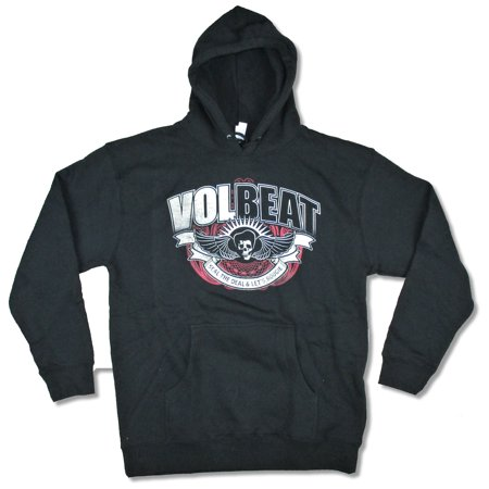 Volbeat Let's Boogie Black Pull Over Sweatshirt