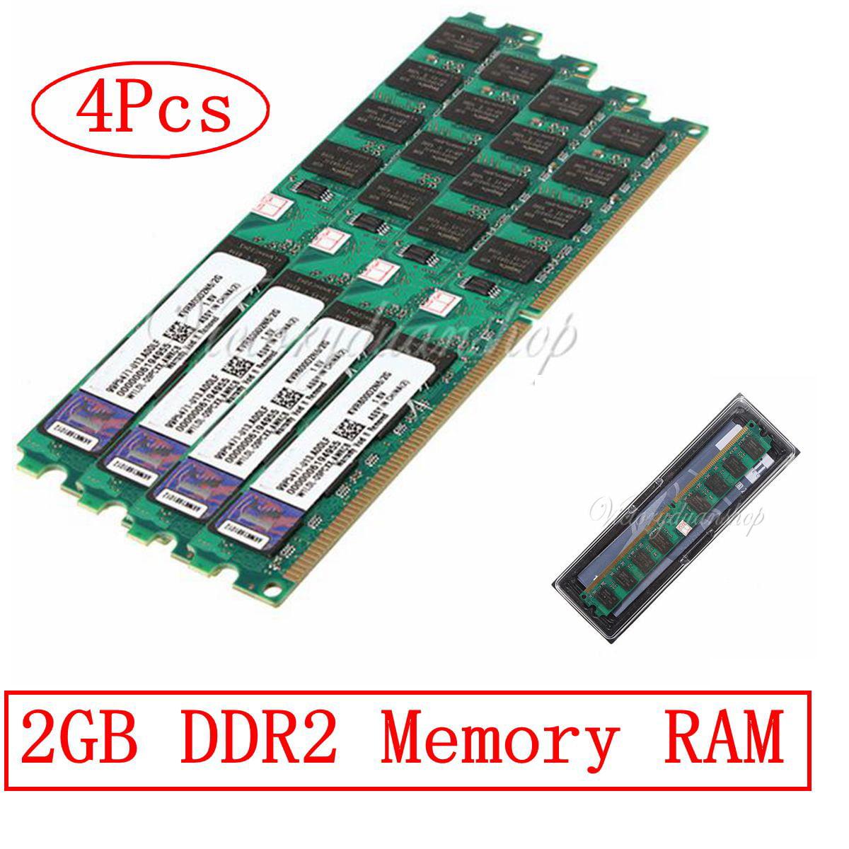 8GB (4x2GB) PC2-6400 DDR2-800 800Mhz 240pin Memory Ram For AMD CPU Metherboard