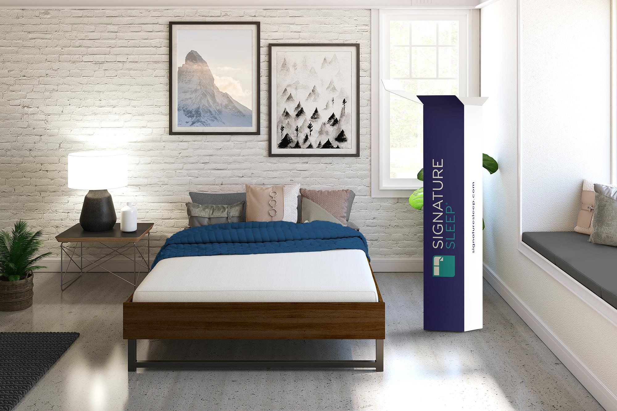 Signature Sleep Memoir 6-Inch Memory Foam Mattress, Full ...