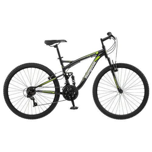 Mongoose Men's Status 2.2 26''  Full Suspension Bike