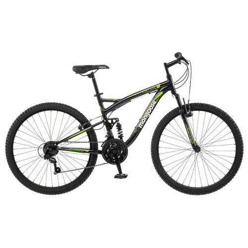 Mongoose Men's Status 2.2 26''  Full Suspension Bike