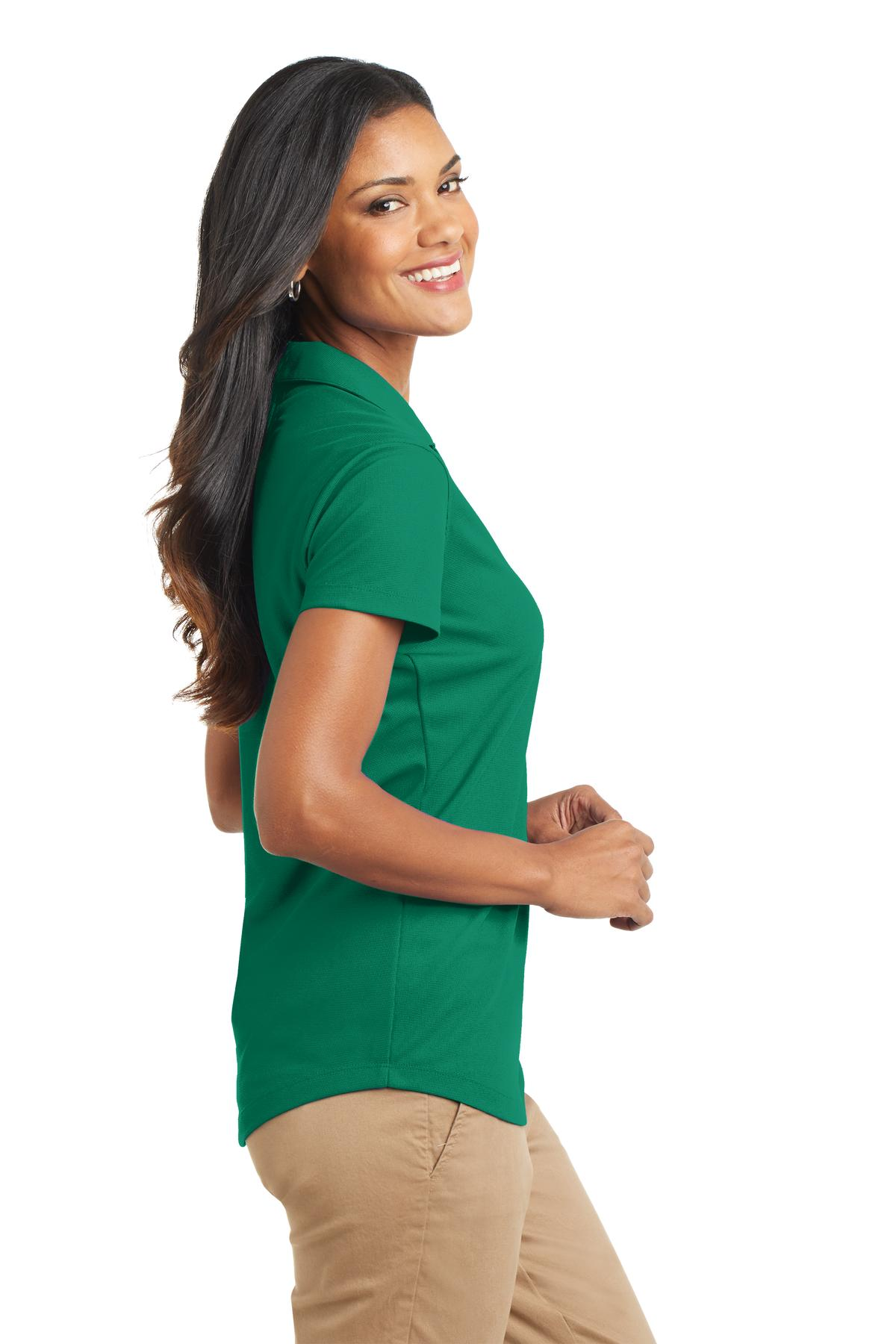 51d2f492 Port Authority - Port Authority Women's Durable Dry Zone Grid Polo Shirt -  Walmart.com