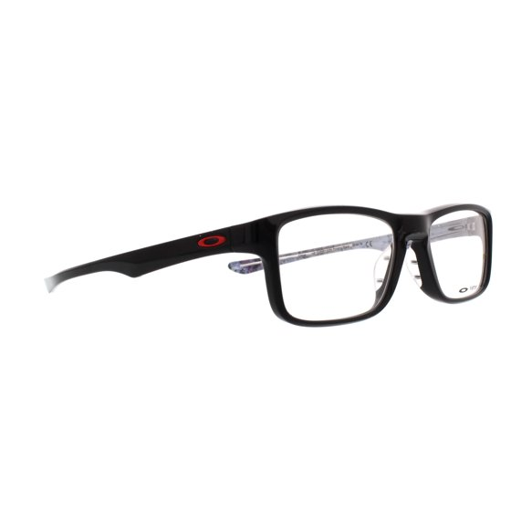 a6fe133ac0 OAKLEY Eyeglasses PLANK 2.0 (OX8081-0253) Polished Black 53MM - Walmart.com