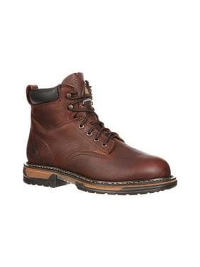 """Men's Rocky IronClad 6"""" Steel Toe Waterproof Work Boot 6696"""