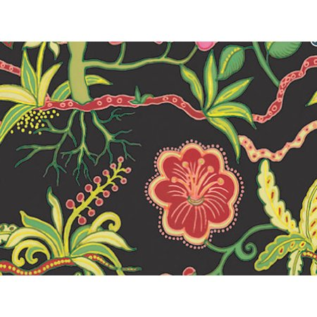 Silk Botanical Fantasy Gift Wrap Wrapping 16ft Roll -