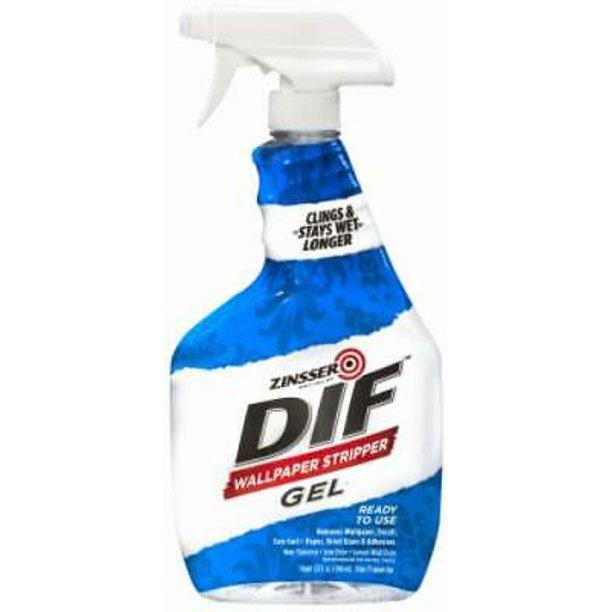 4pc Dif 32 Oz Ready To Use Wallpaper Remover Gel Spray Walmart Com Walmart Com