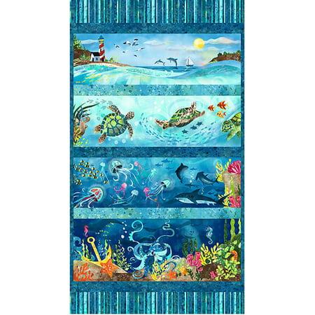 Studio E Ocean State Blue 24 Inch Panel