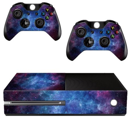 Nebula Protective Skin Decal Cover For Microsoft Xbox One Console + 2 Controllers Sticker Wrap Skins