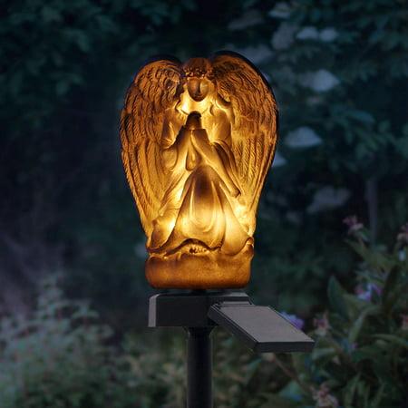Outdoor Waterproof LED Lights Garden Solar Night Lights Solar-Powered Lawn Lamp Garden Landscape Decor - image 5 de 7