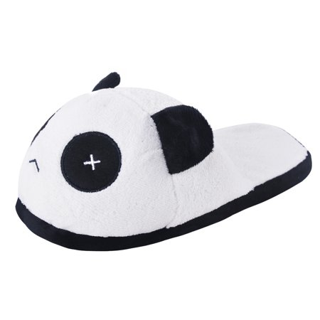 House Slippers, Justdolife Cute Soft Winter Warm Plush Panda Hotel Indoor Shoes for Women Men Panda Bear Slippers