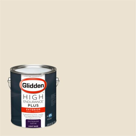 Glidden High Endurance Plus Exterior Paint And Primer Elegant Ivory Cream 39yy 77