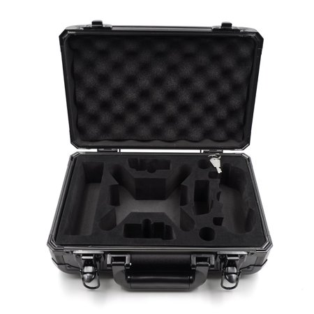 Dsi Crystal Case (Water-Resistant Rugged Compact Storage Aluminum Case for DJI Spark )
