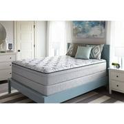 Sealy Faux Euro Top Cathcart Mattress, Plush, Multiple Sizes