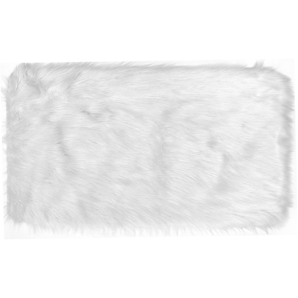 Home Dynamix Arctic Collection Faux Fur Area Rug, Scatter