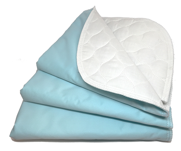 PACK OF 2 FIRST STEP DISPOSABLE BED MATS IDEAL HOME AND TRAVEL.
