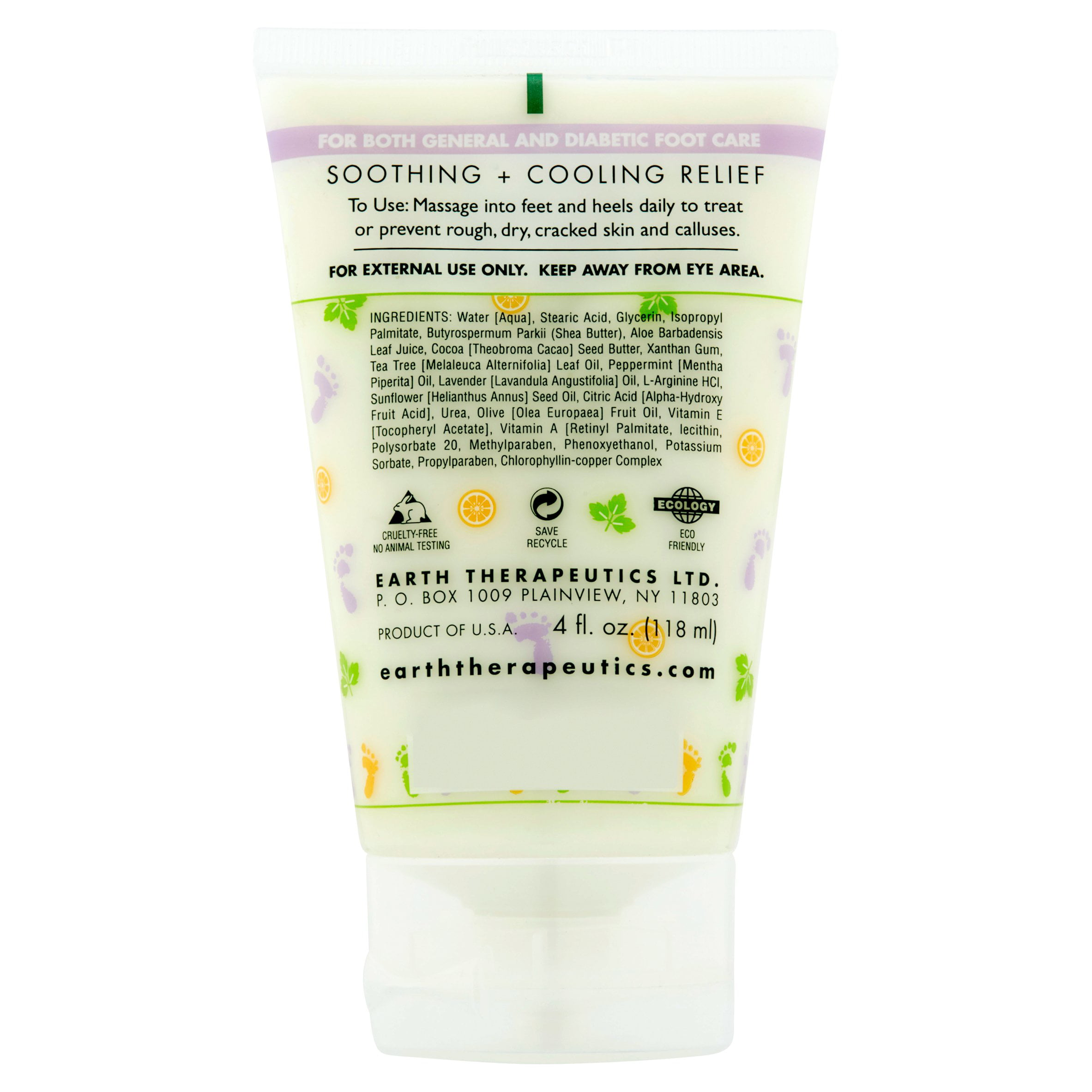 Cooling Foot Scrub by earth therapeutics #13
