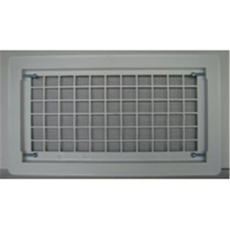 Automatic Grill (Witten Automatic Vent 510WH Open Air Grill Foundation Vent Whtite)
