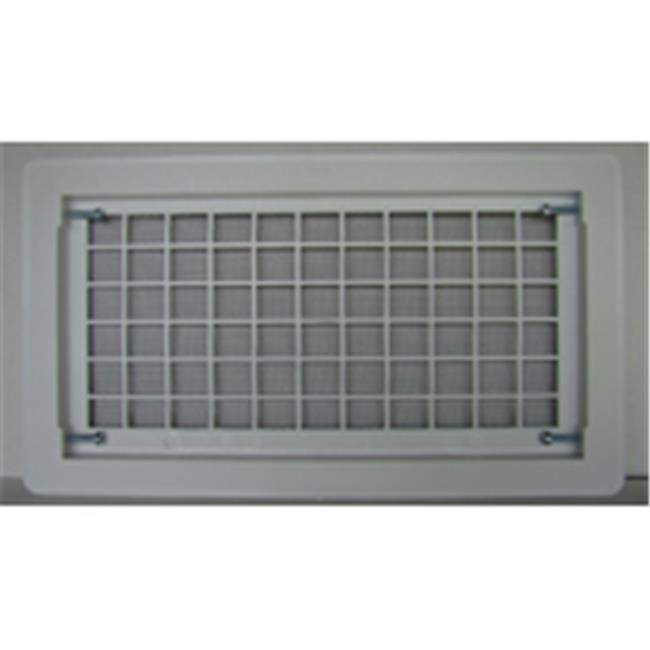 Witten Automatic Vent 510WH Open Air Grill Foundation Vent Whtite