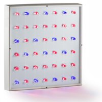 Xen-Lux 20 Watt LED Grow Lights Hydroponics Dual Band Light Panel Red Blue for Flowering with 42 High Output Bulbs Indoor Grow Rooms Tents Greenhouses
