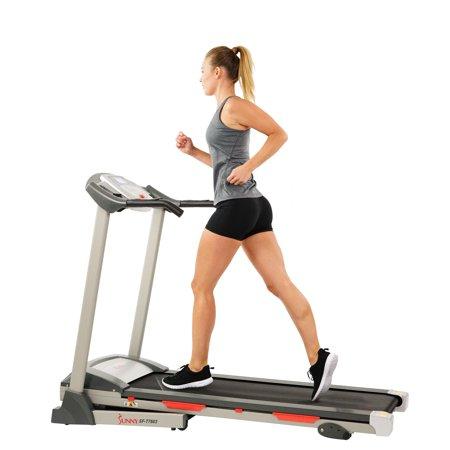 Sunny Health & Fitness SF-T7603 Motorized Folding Treadmill