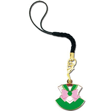 Cell Phone Charm - Sailor Moon - New Sailor Jupiter Costume Licensed ge17508](Sailor Moon Costum)