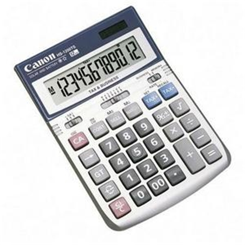 Canon 7438A003AA 12-Digit Display Calculator