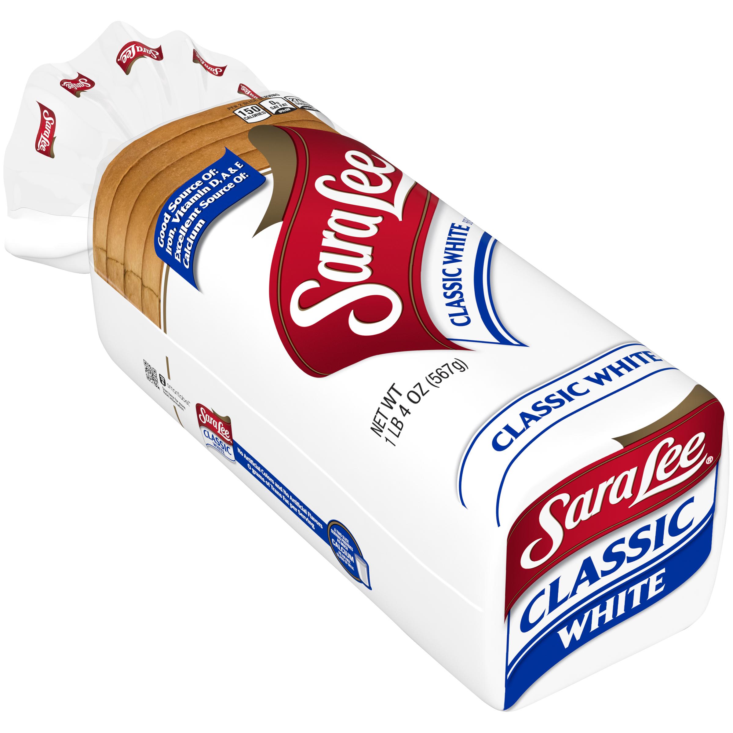 Sara Lee Classic White Bread, 20 Oz