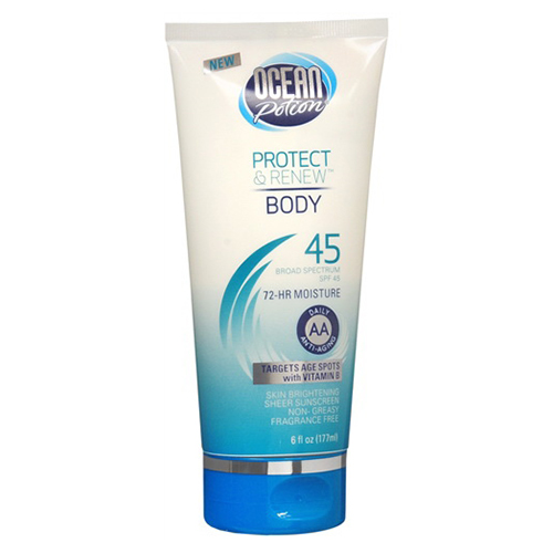 Ocean Potion Suncare Protect And Renew Body Spf 45 Anti-A...
