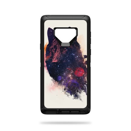 Skin For OtterBox Defender Galaxy Note 9 - Universal Wolf | Protective, Durable, and Unique Vinyl Decal wrap cover | Easy To Apply, Remove, and Change Styles