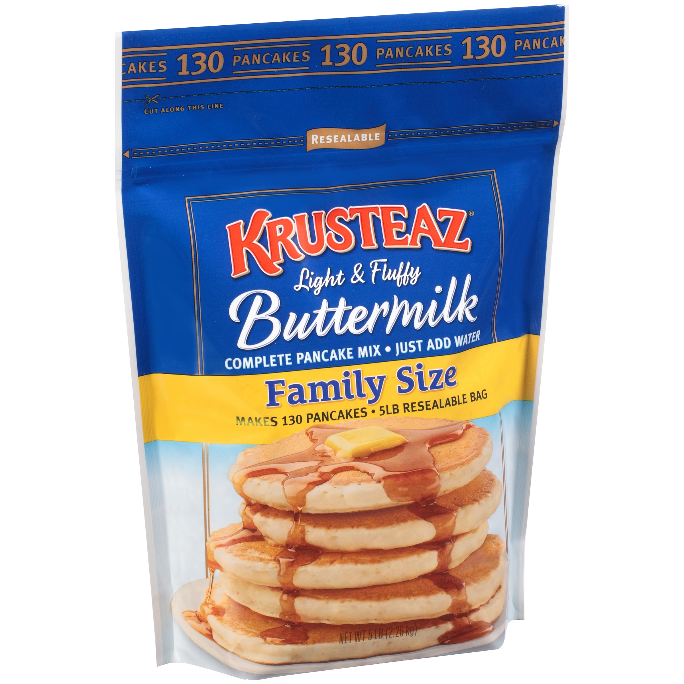 Krusteaz® Buttermilk Complete Pancake Mix Family Size 5 lb. Bag
