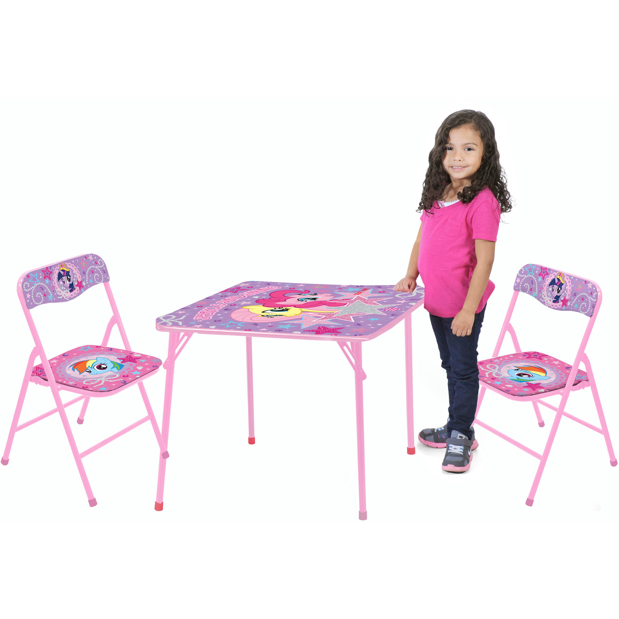 My Little Pony 3-Piece Table and Chair Set