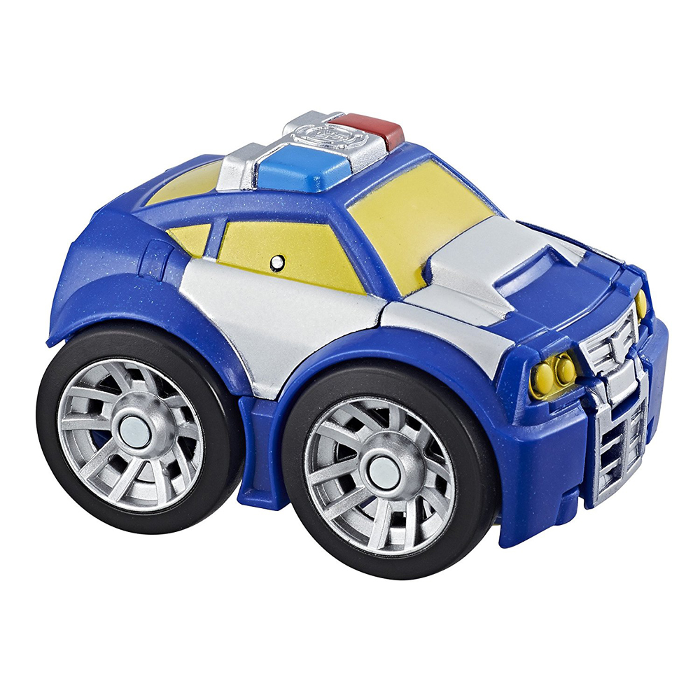 Playskool Heroes Transformers Rescue Bots Flip Racers Chase the Police-Bot by Hasbro