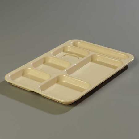 Right Hand Compartment Tray, Tan ,Carlisle, P614R25 ()