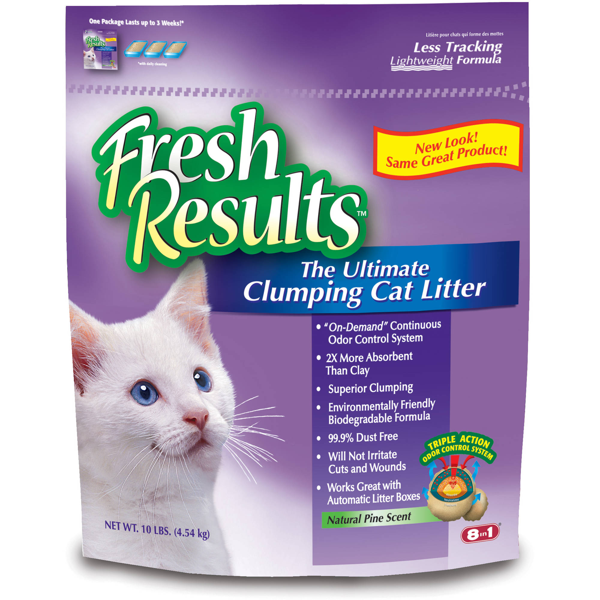 Fresh Results, Ultimate Clumping Cat Litter, 10-Pounds