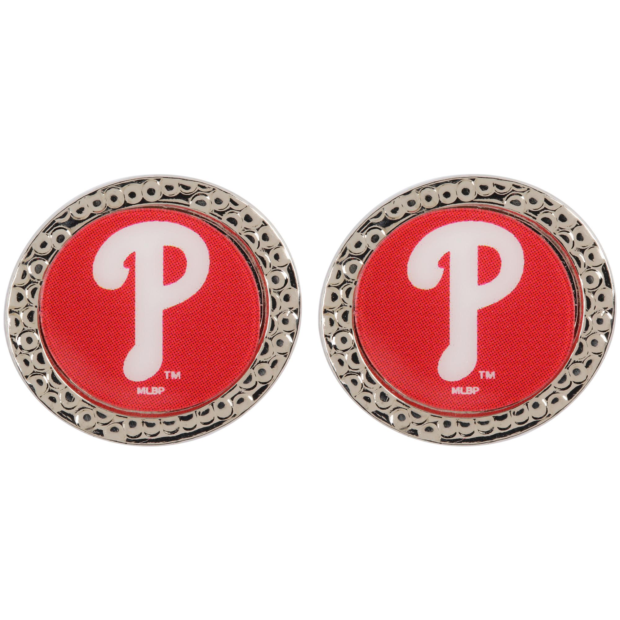 Philadelphia Phillies WinCraft Women's Round Post Earrings - No Size