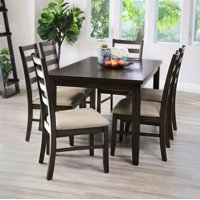 Abbyson Living Cambria WF-TADR10-7PC 7-Piece Dining Set