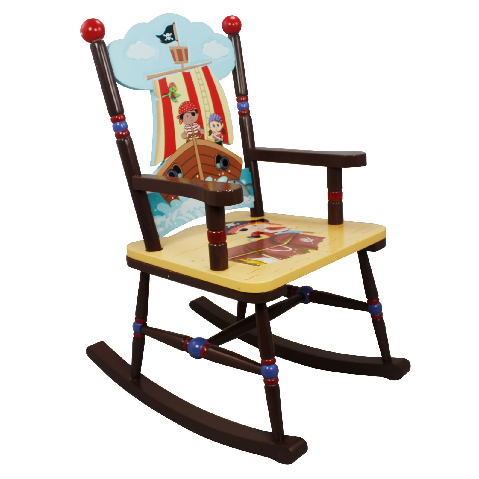 Fantasy Fields Pirates Island Rocking Chair