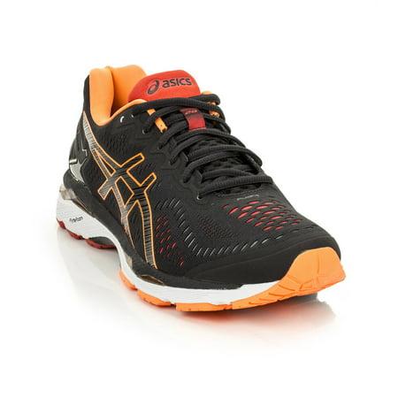 info for c3b64 589e4 ASICS Men's Gel-Kayano 23 Running Shoe, Black/Hot Orange/Vermilion, 13 M US