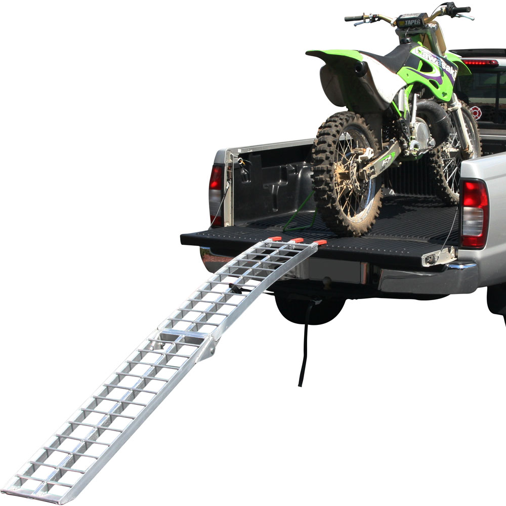 "89"" Single Arched Folding Dirt Bike Ramp for Pickups & Trailers"