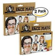 2x Gentlemens Club Face Mats, Face Coaster (2 PACKS OF 20)