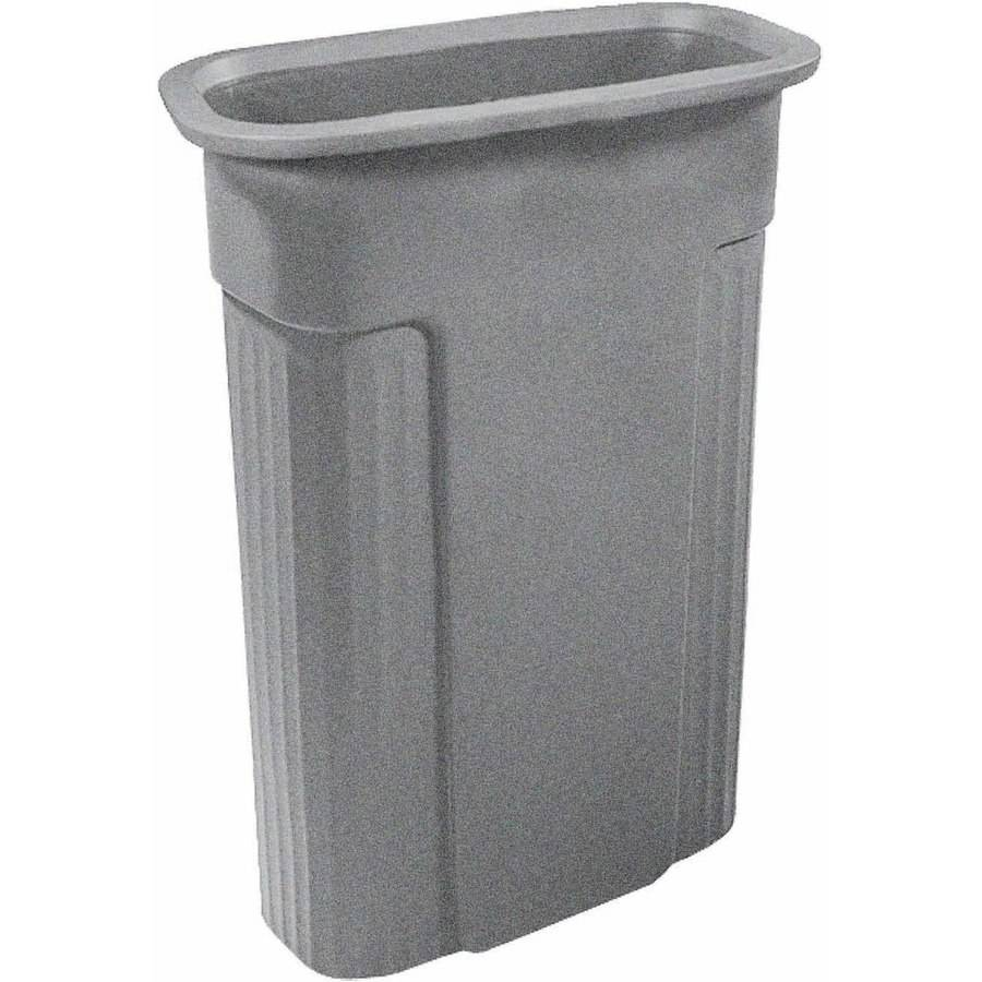 Toter 23 Gallon Rectangular Slimline Trash Can by