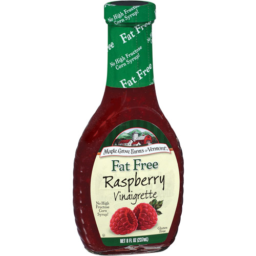 Maple Grove Farms Fat Free Raspberry Vinaigrette Dressing, 8 Fl Oz