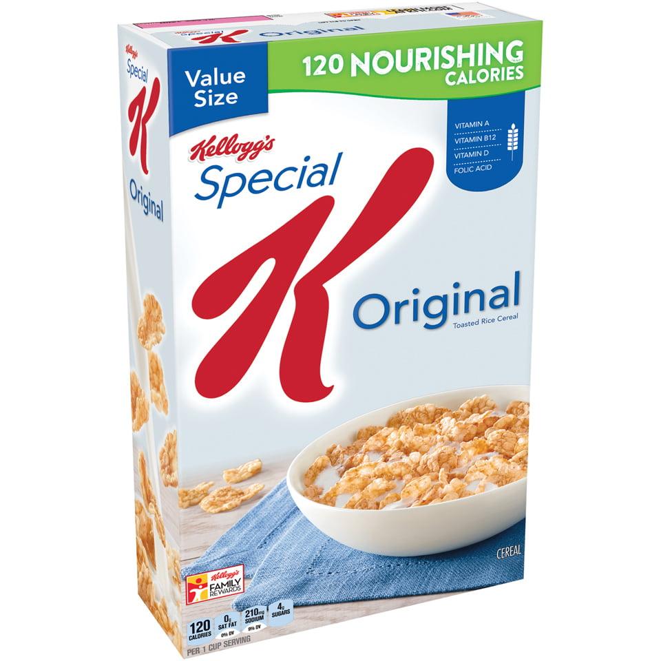Kellogg's Special K Breakfast Cereal, Original, 18 Oz