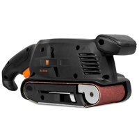 WEN 5-Amp 3-by-18-Inch Variable Speed Combination Handheld and Benchtop Belt Sander, HB3185